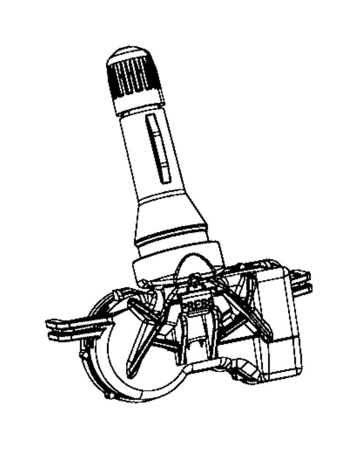 2017 Jeep Grand Cherokee Sensor. Tire pressure