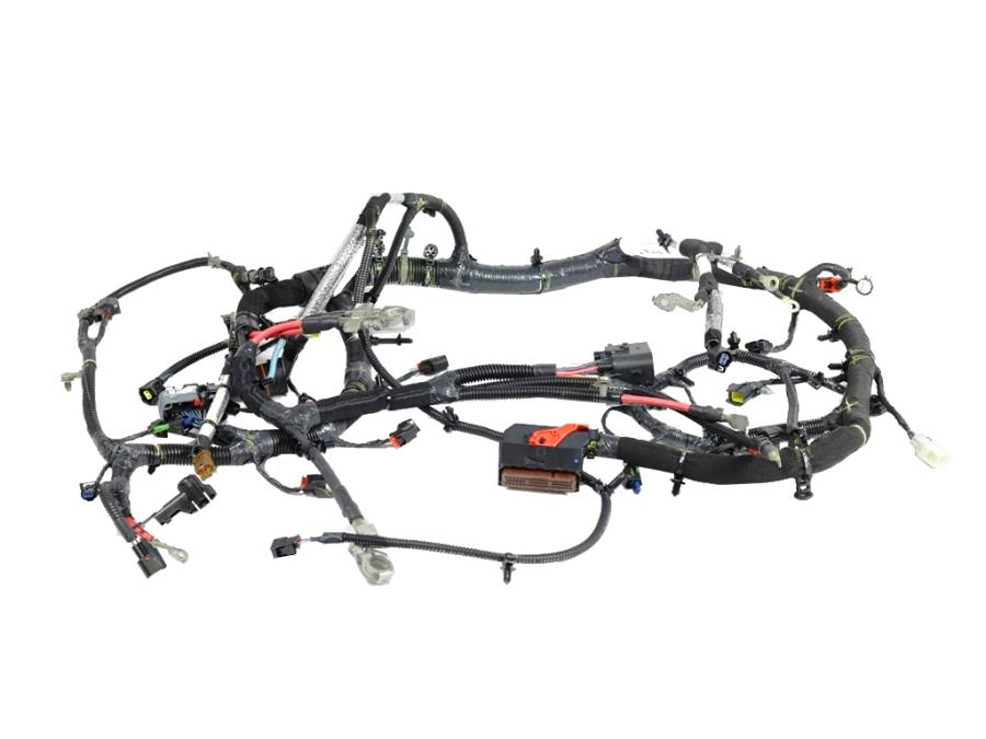 2014 Jeep Wrangler Wiring. Engine. [complete chassis parts