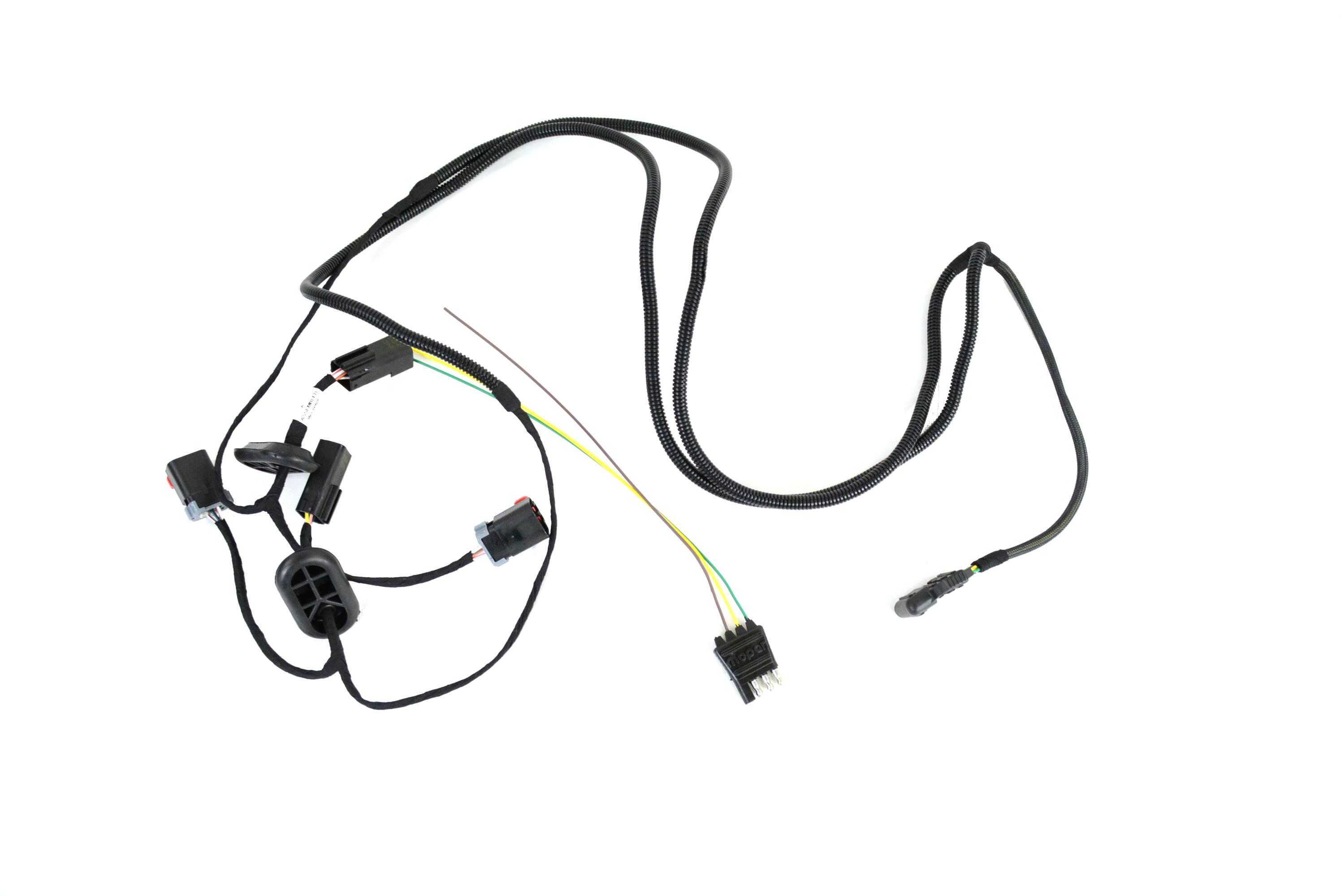 Chrysler Pacifica Trailer Tow Wiring Harness Kit, with 4