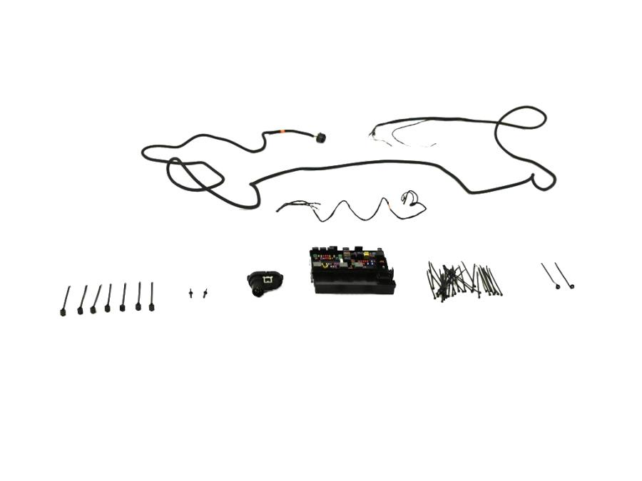 2020 Jeep Grand Cherokee Wiring harness to enable towing