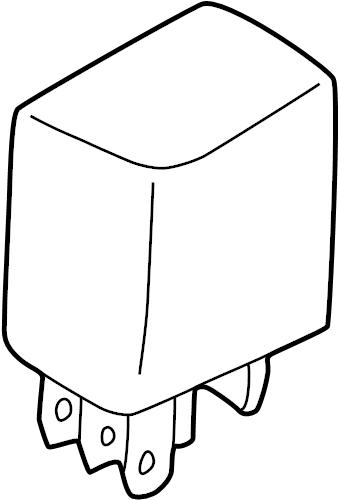 RELAY. A/C, A/C Clutch, ABS Yellow Light, Air Pump