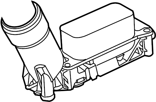ADAPTER. ENGINE OIL FILTER for Dodge. #68105583AE