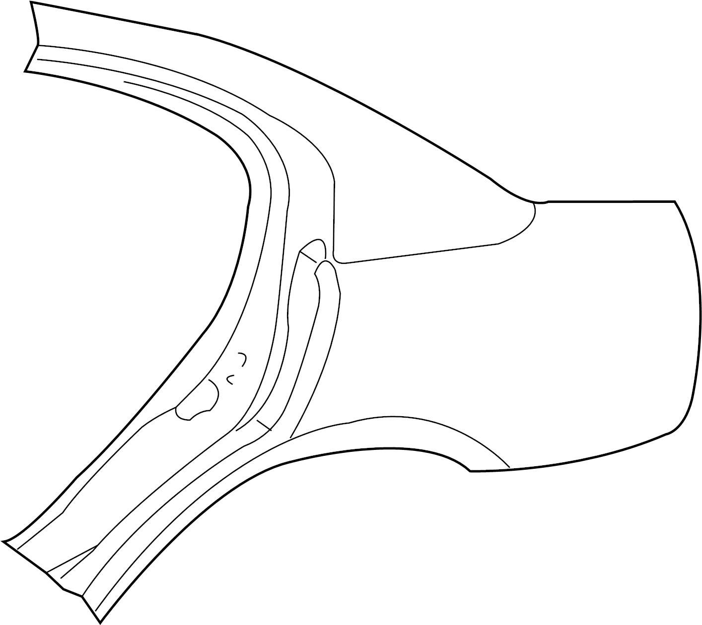 PANEL. Left. Body Side Aperture Outer. Rear. Rear Aperture