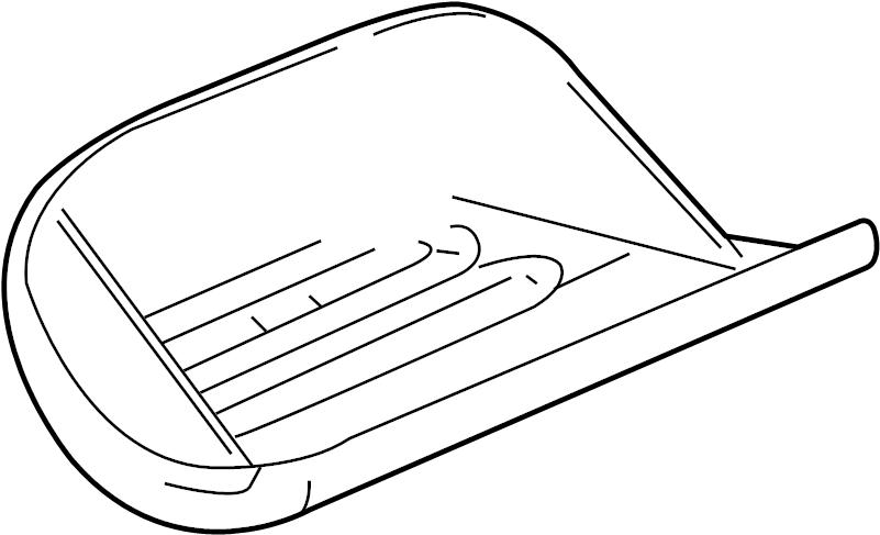 2000 Dodge Neon Manual Window Regulator