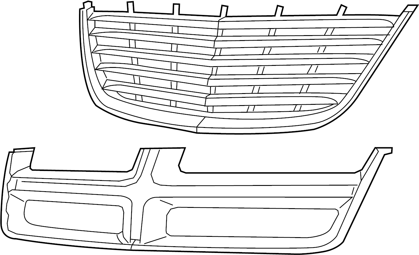 Grille Radiator Grilles Made By Chrysler Ad