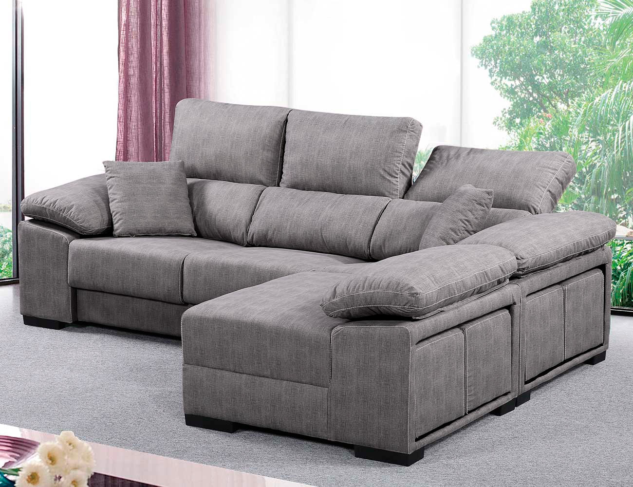 reversible sectional sofa chaise the brick beds with lounge