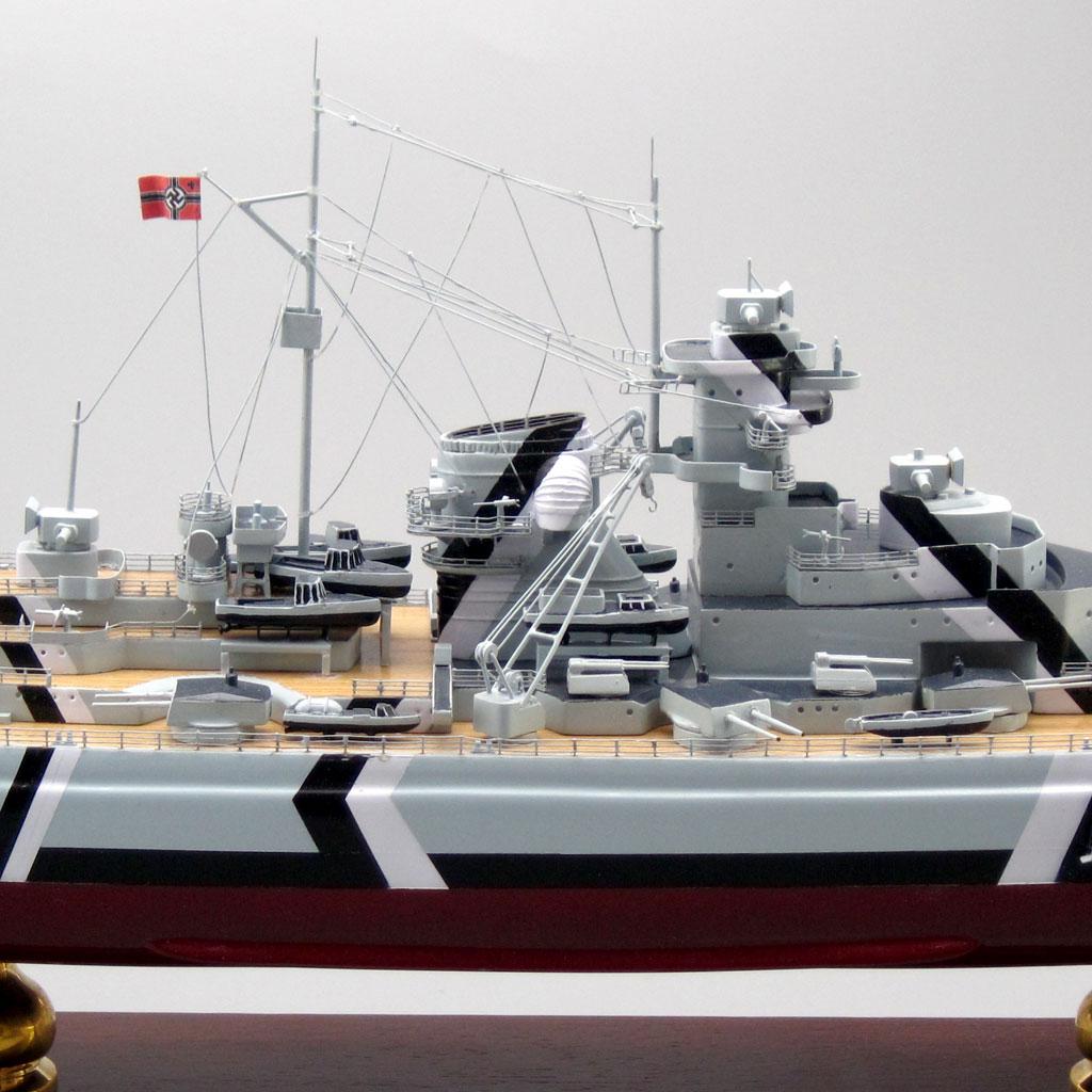 German Battleship Bismarck Scale Model  Factory Direct Models