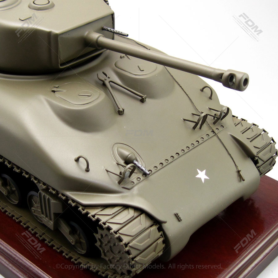 M4 Sherman Tank Military Scale Model  Factory Direct Models