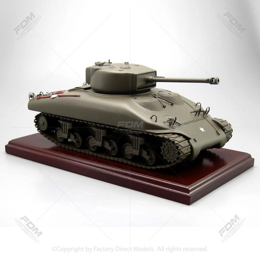 M4 Sherman Tank Military Scale Model