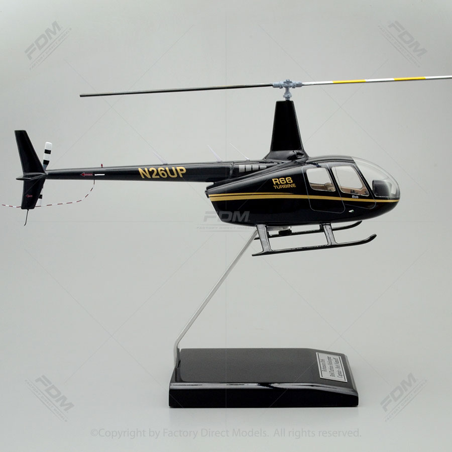 Robinson R66 Custom model Helicopter  Factory Direct Models