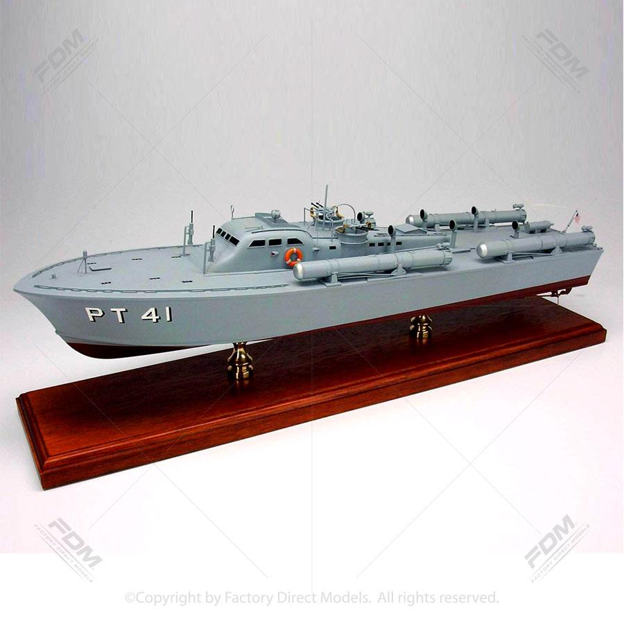 Motor Torpedo Boat PT41 Model Ship  Factory Direct Models
