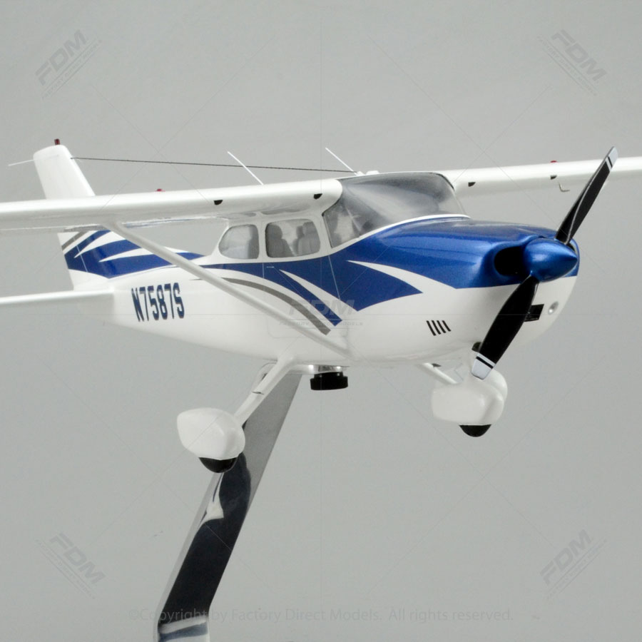 182 Skylane Scale Model Airplane  Factory Direct Models