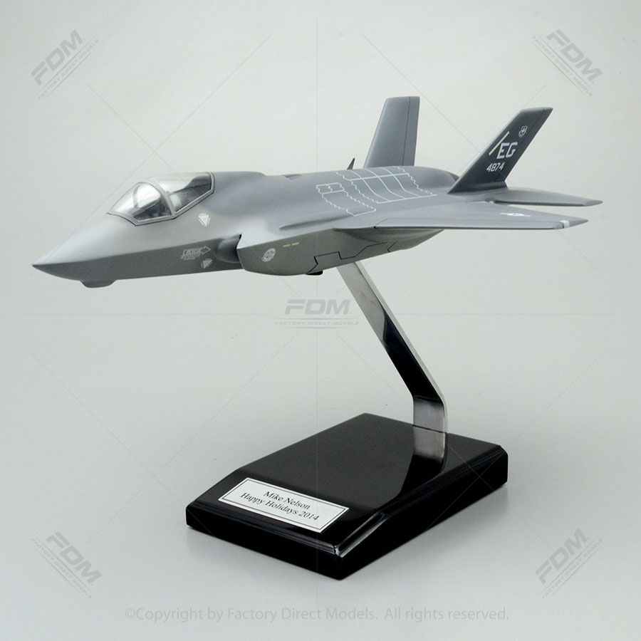 Lockheed Martin F35 Lightning II Model with Detailed Interior  Factory Direct Models
