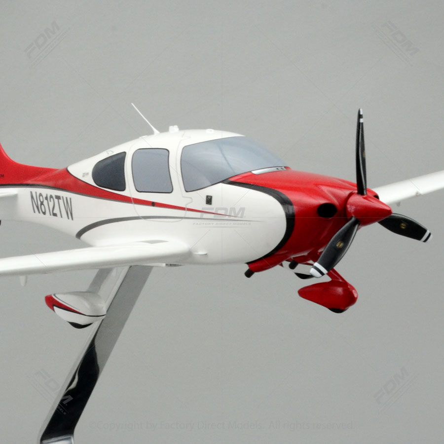 Cirrus SR22 Scale Model Airplane  Factory Direct Models