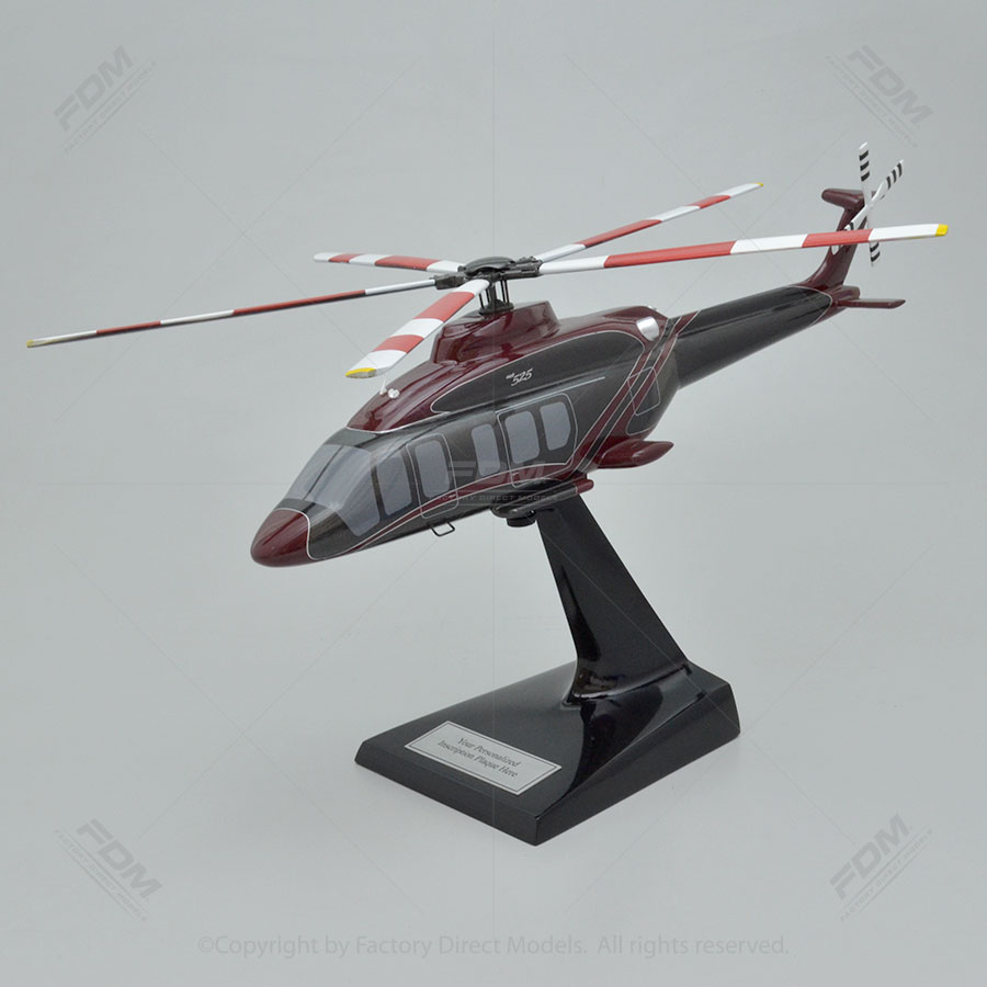 Bell 525 Relentless Custom Model Helicopter  Factory