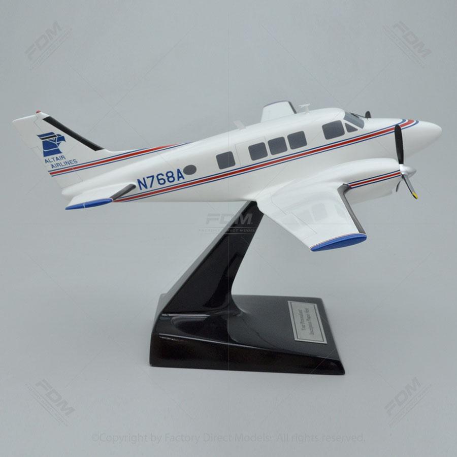 Beechcraft B80 Queen Air Altair Airlines Model