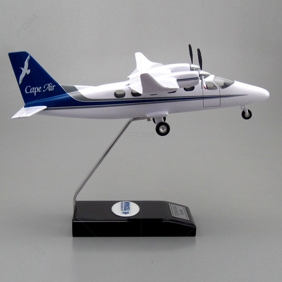 Tecnam P2012 Traveller Model with Detailed Interior