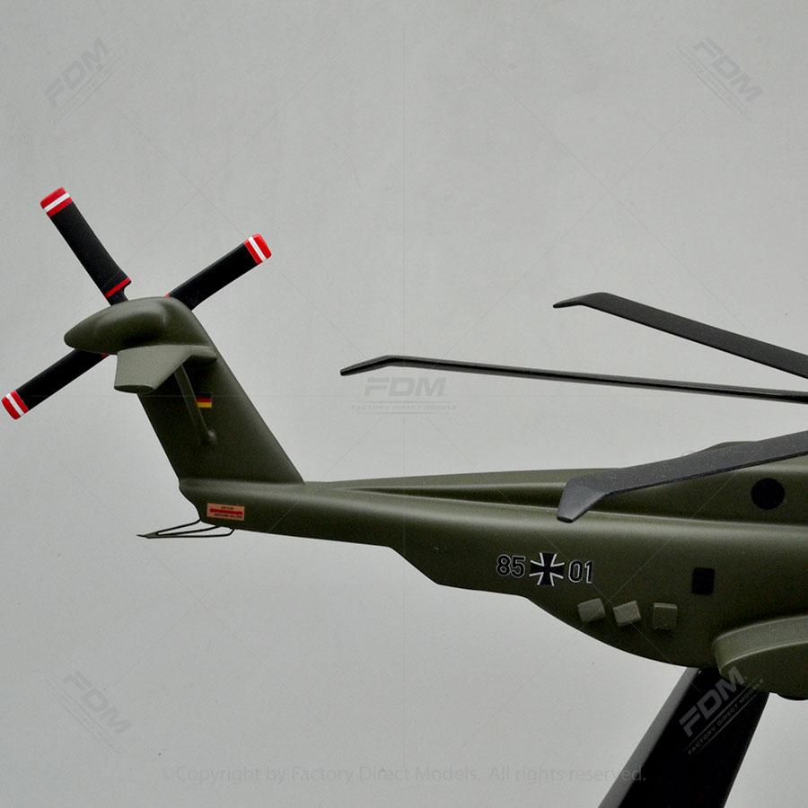 Sikorsky CH53K King Stallion Wooden Model  Factory
