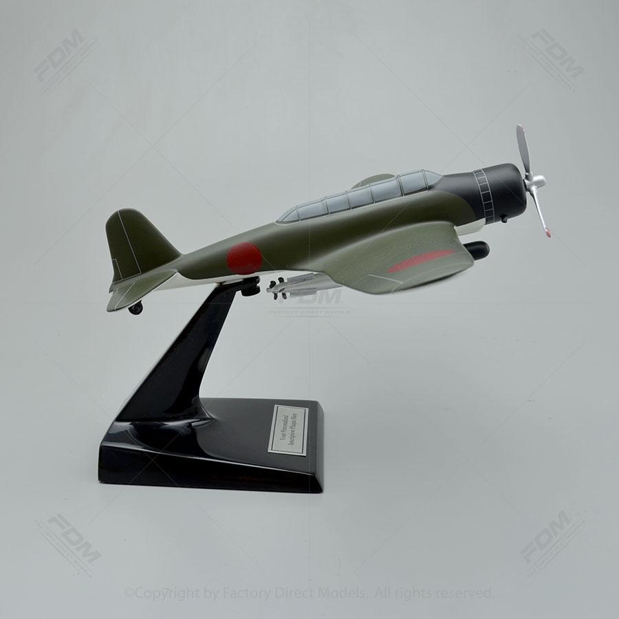 Nakajima B5N Torpedo Bomber Model  Factory Direct Models