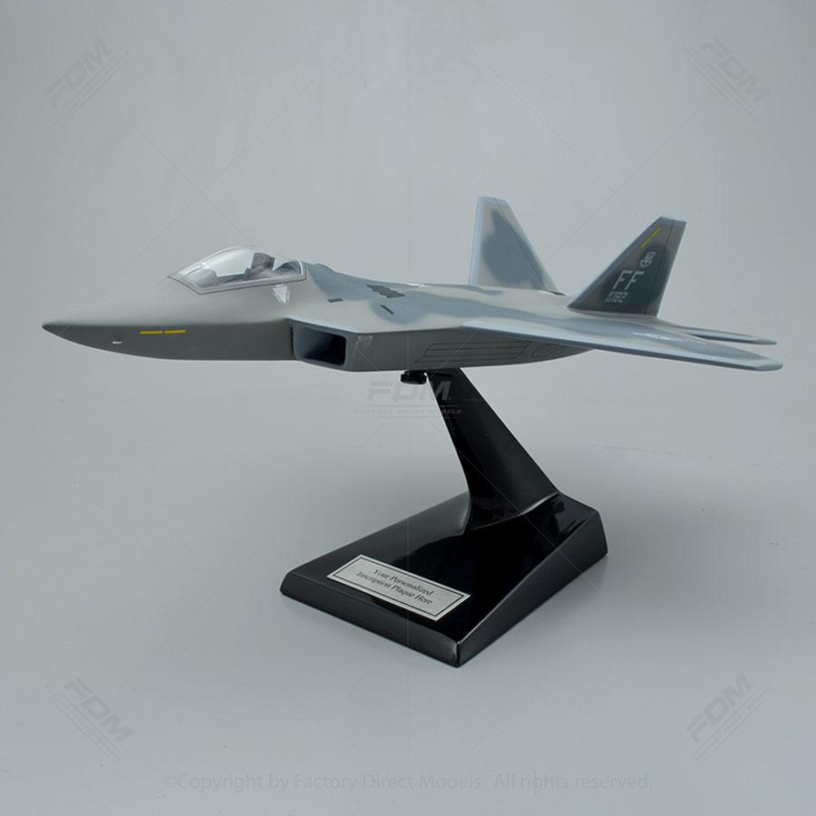Lockheed Martin F22 Raptor Model with Detailed Interior