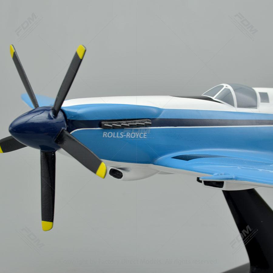 Supermarine Spitfire Mk XIV Model  Factory Direct Models