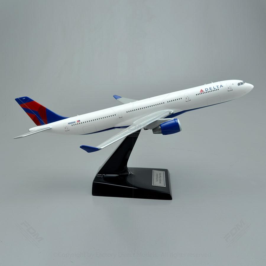 Airbus A330 300 Delta Model Factory Direct Models