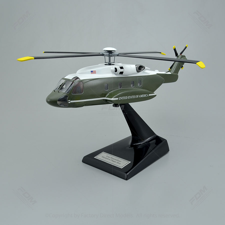 Lockheed Martin VH92A Presidential Helicopter Model with