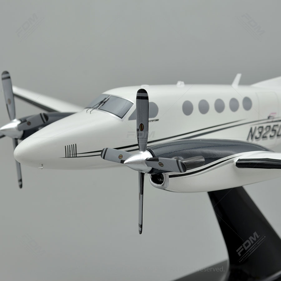 King Air 200 Scale Model Plane  Factory Direct Models