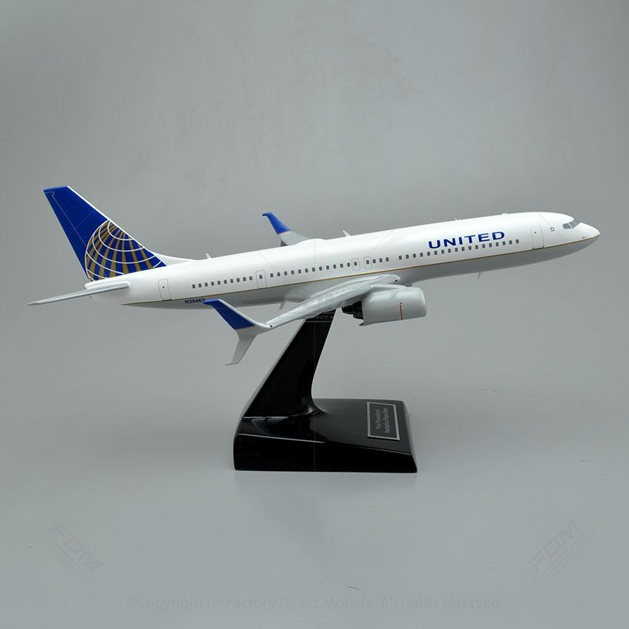 Boeing 737900 UA Custom Model Airplane  Factory Direct