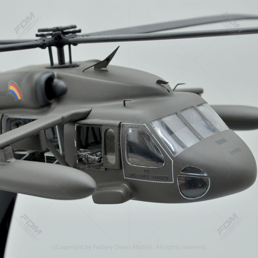 Sikorsky UH60 Black Hawk Model Helicopter with Detailed