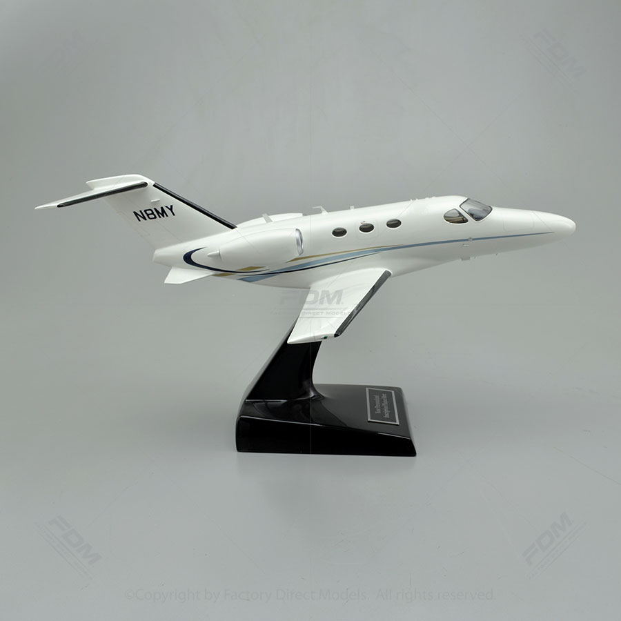Cessna 510 Citation Mustang Model Airplane With Detailed