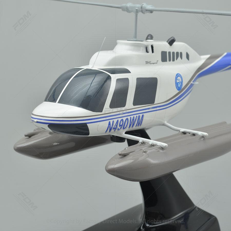 Bell 206B Jet Ranger II Model Helicopter  Factory Direct