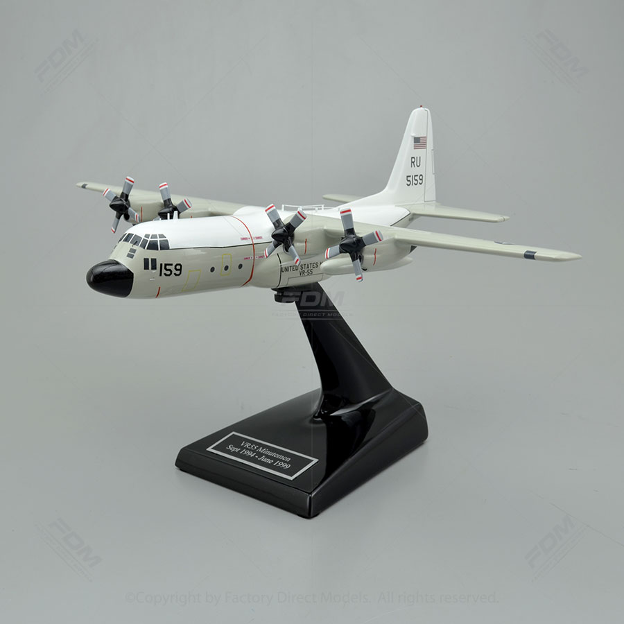 Lockheed C130 Hercules NAVY Model Airplane  Factory