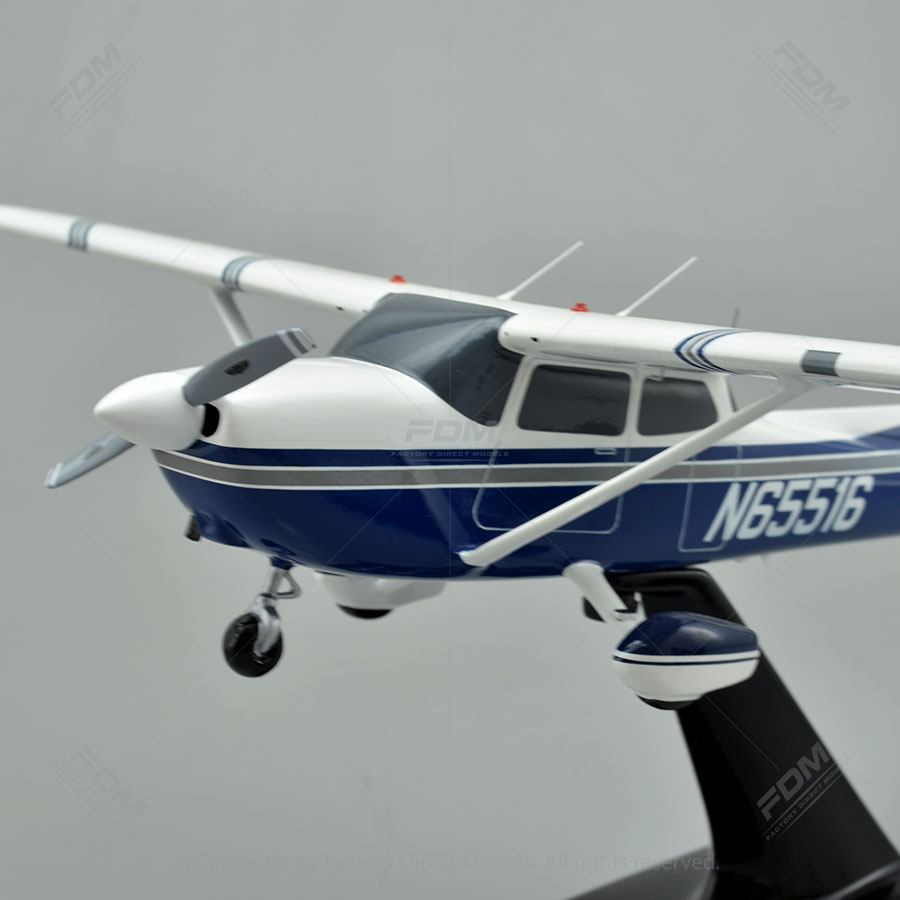 Cessna 172 Skyhawk Custom Model Plane  Factory Direct Models