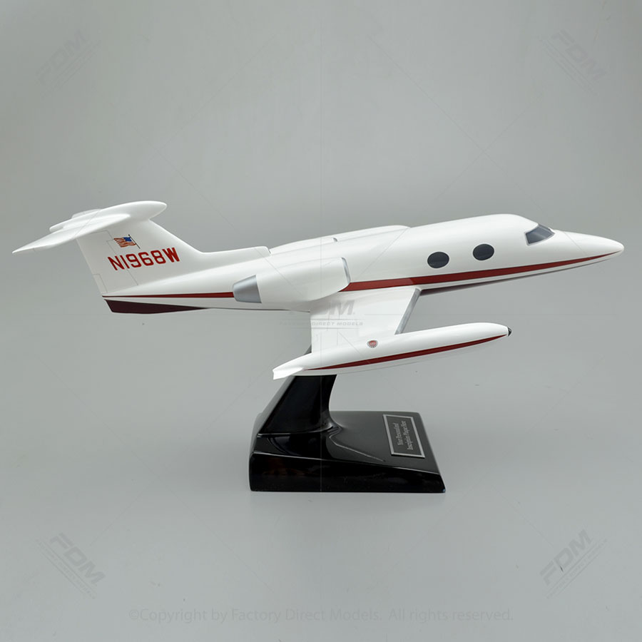 Learjet 23 Custom Model Airplane  Factory Direct Models