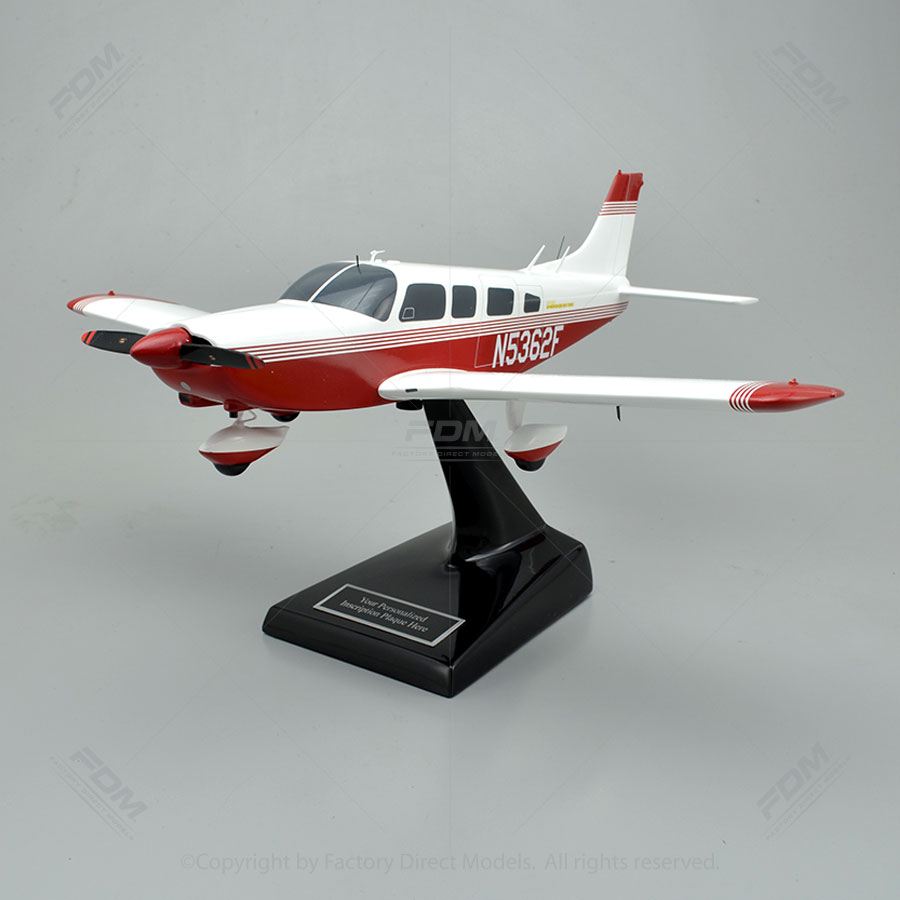 Custom Piper PA 32 260 Cherokee Six Model Airplane
