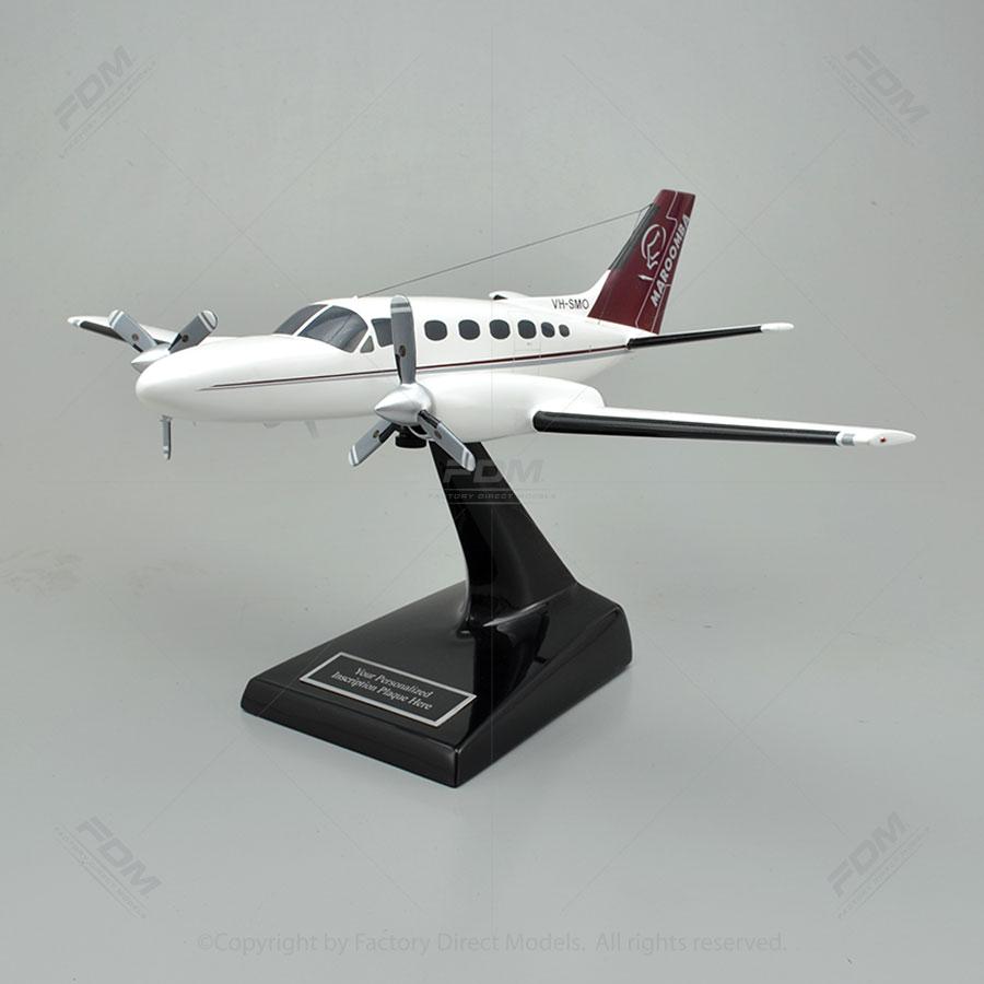 Custom Cessna 441 Conquest II Model Airplane