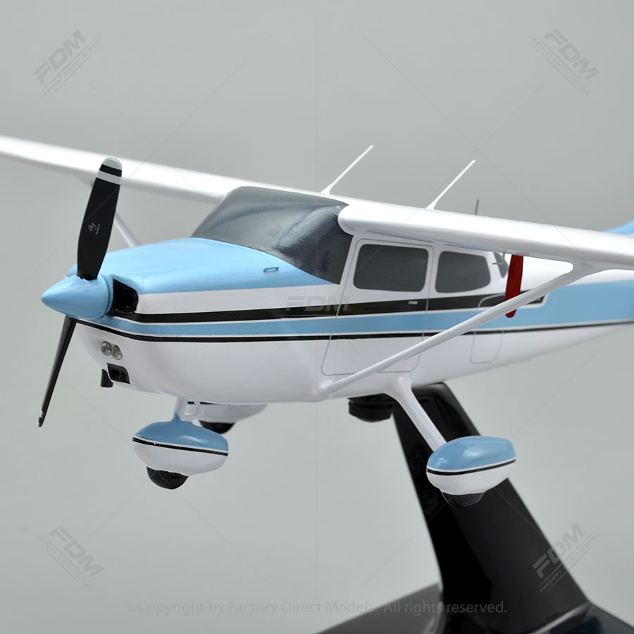 Cessna 172 Skyhawk Model Airplane  Factory Direct Models