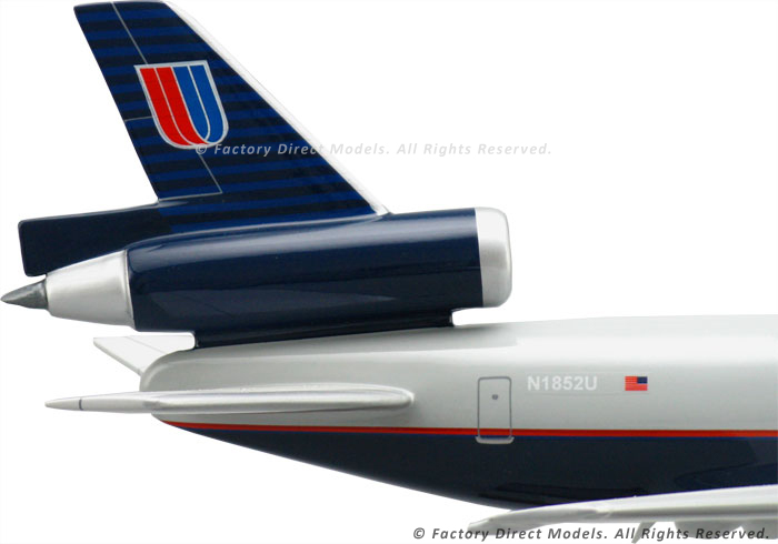 McDonnell Douglas DC10 Worldwide Cargo United Airlines