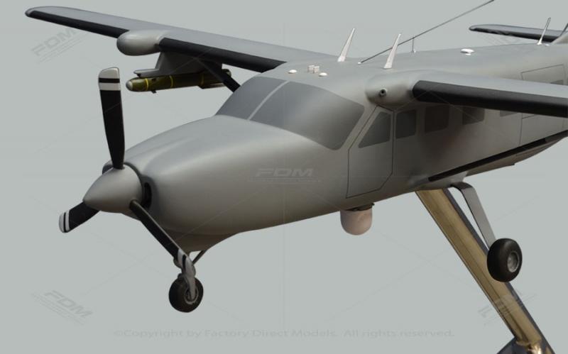 Cessna AC 208 Combat Caravan Custom Model Airplane