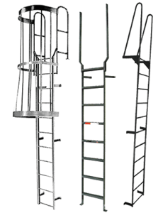 Fixed Ladders by Factory Equipment