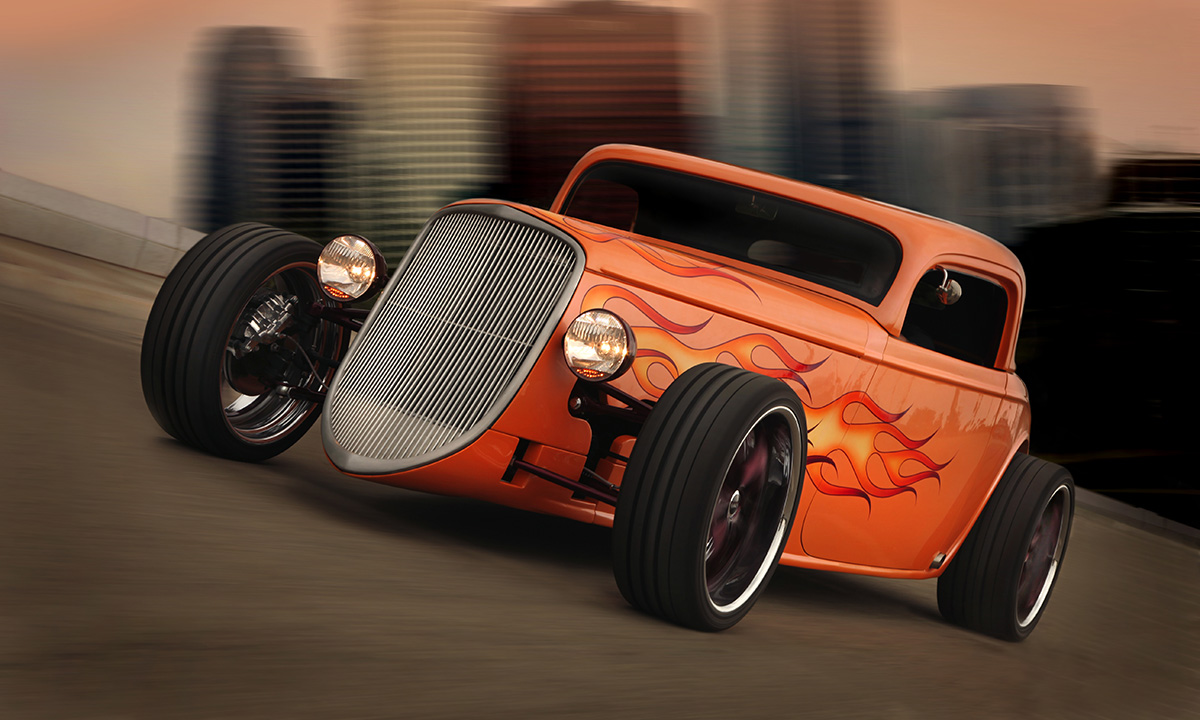 hight resolution of the hot rod evolved by jim schenck
