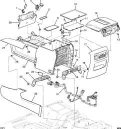 22884620 gm diagram suburban tahoe sierra 1500 center console ford f 150 console 2002 f150 center console diagram [ 859 x 960 Pixel ]