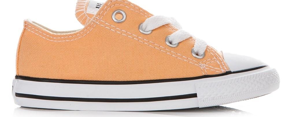CONVERSE - Βρεφικά παπούτσια Chuck Taylor πορτοκαλί