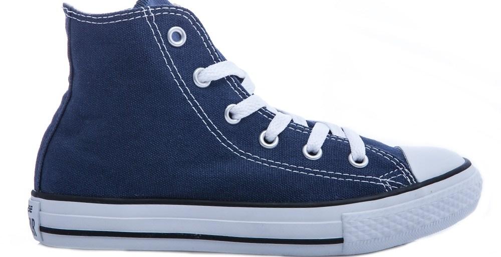 CONVERSE - Παιδικά μποτάκια Chuck Taylor μπλε