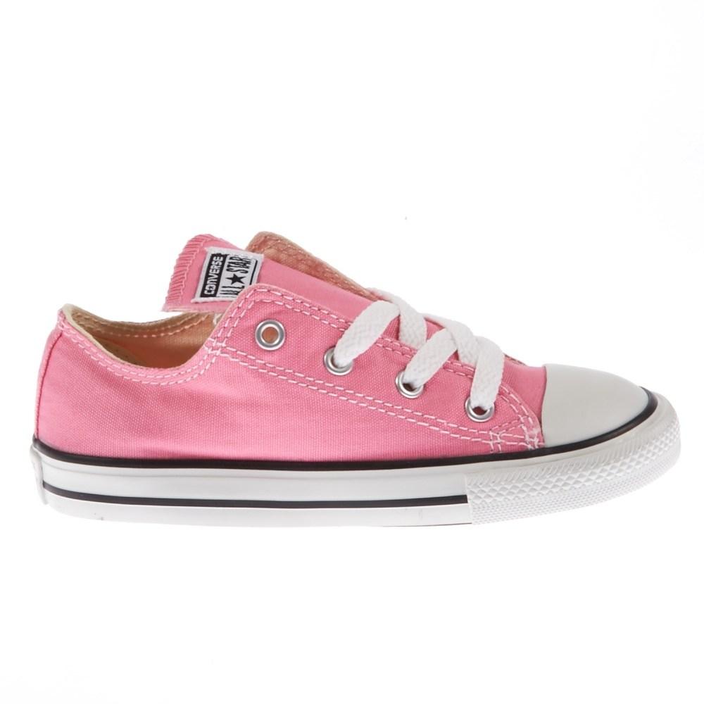 CONVERSE - Βρεφικά παπούτσια Chuck Taylor ροζ