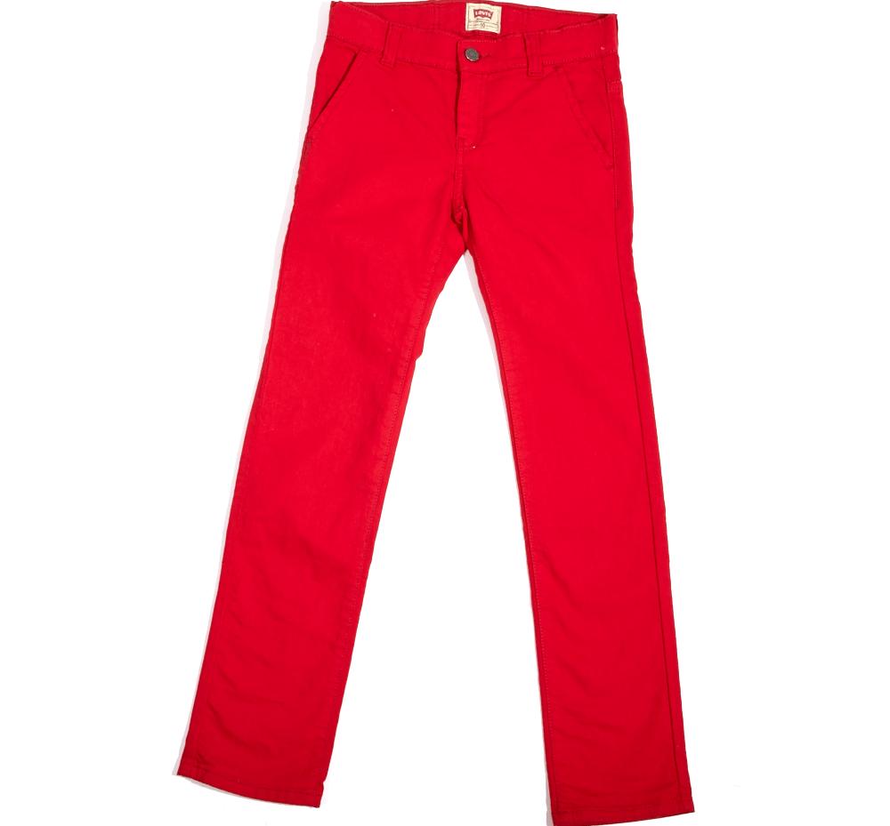 LEVIS KID'S - Παιδικό παντελόνι Levis Kid's κόκκινο