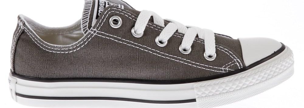 CONVERSE - Παιδικά παπούτσια Chuck Taylor γκρι σκούρο