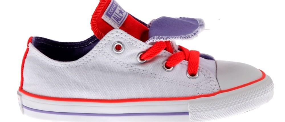 CONVERSE - Βρεφικά παπούτσια Chuck Taylor λευκά