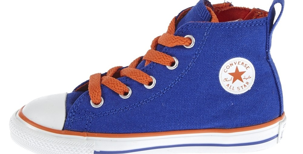 CONVERSE - Βρεφικά μποτάκια Chuck μπλε